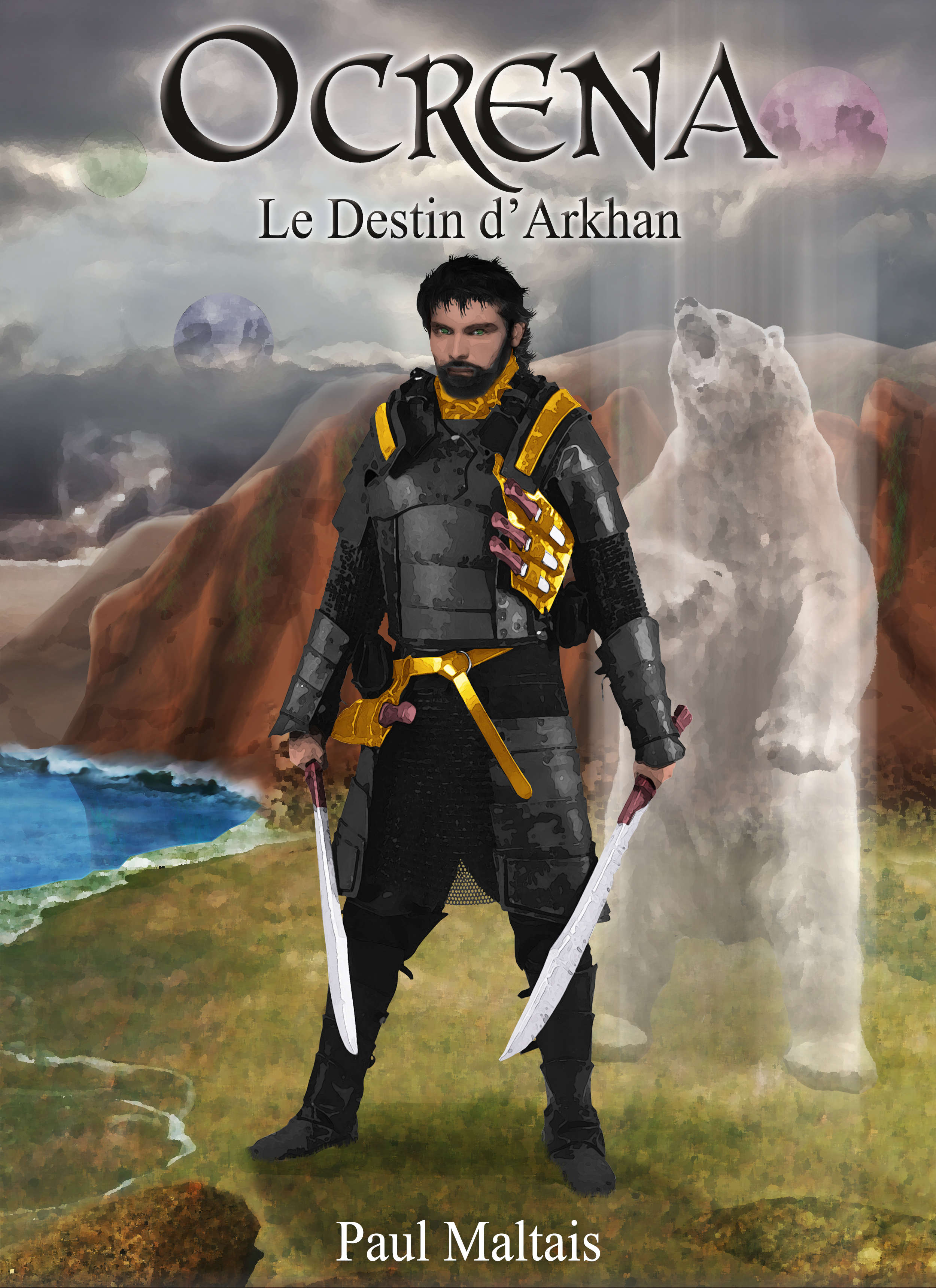 livre heroic fantasy Ocrena